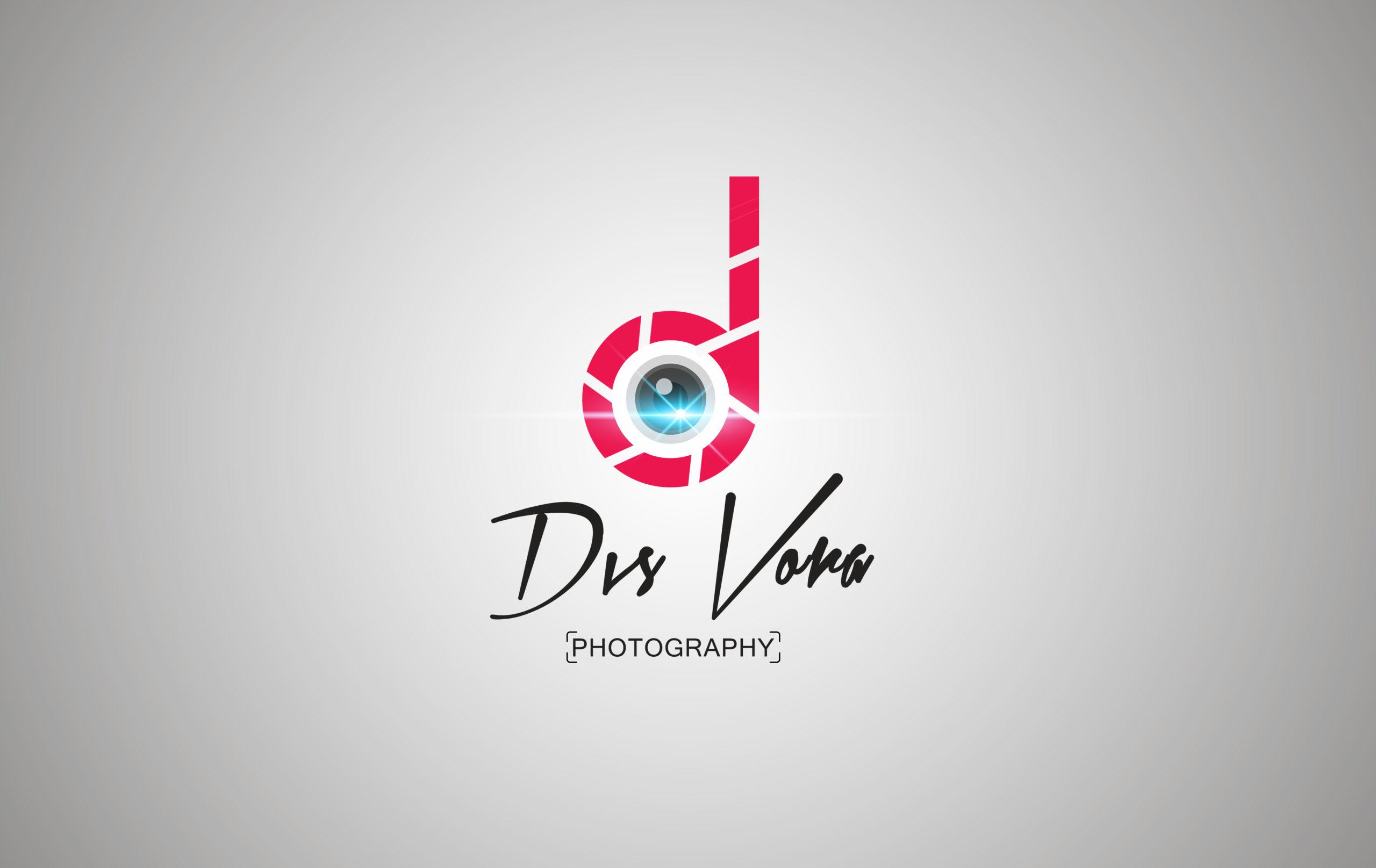 Dvs Vora photography logo design by Badri Design
