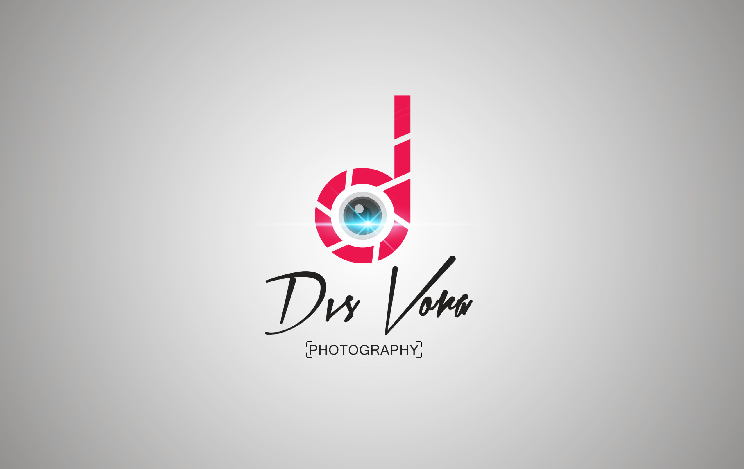 Dvs Vora photography logo design by Badri Design