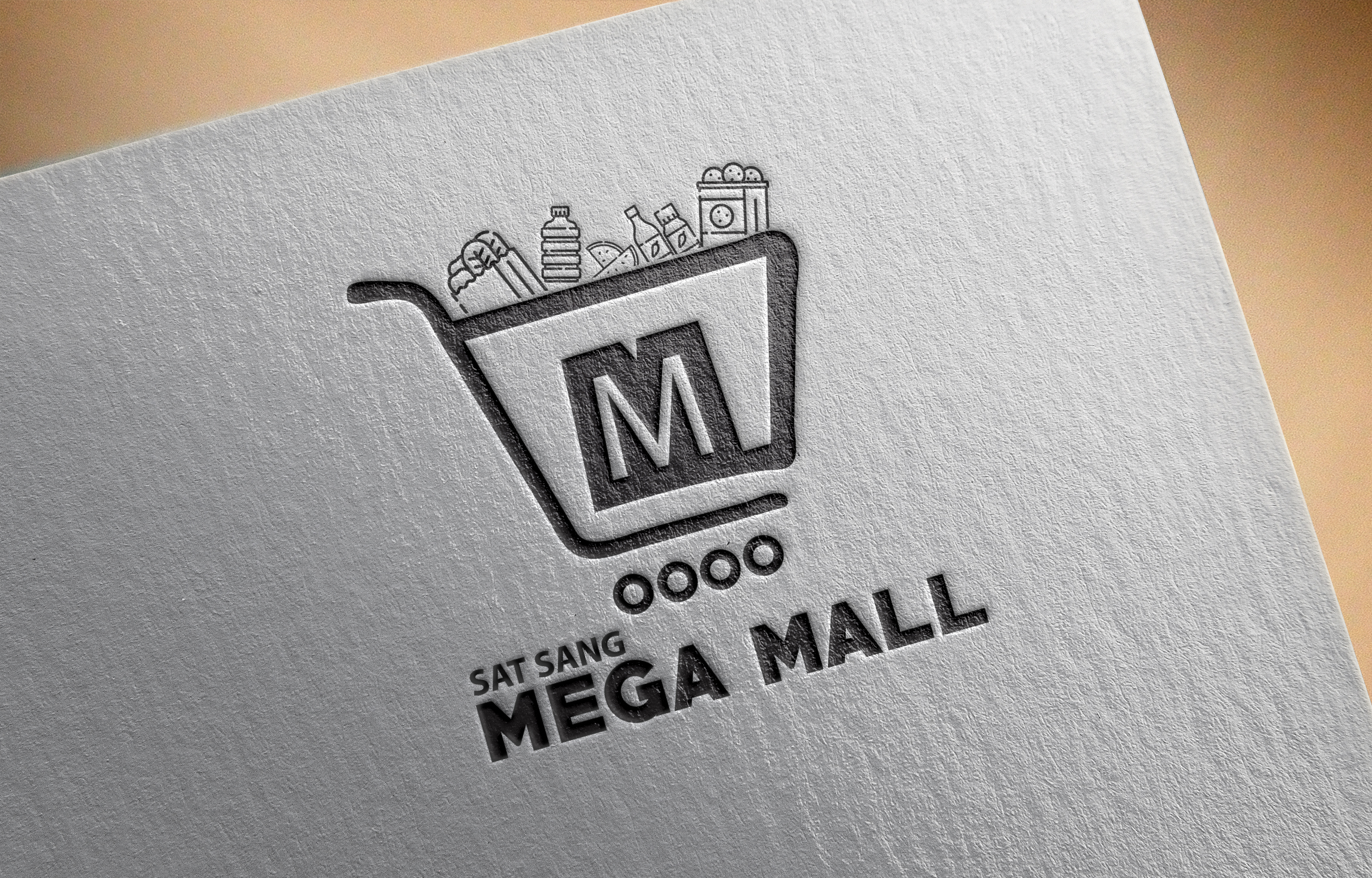 Mega mall logo design by Badri Design