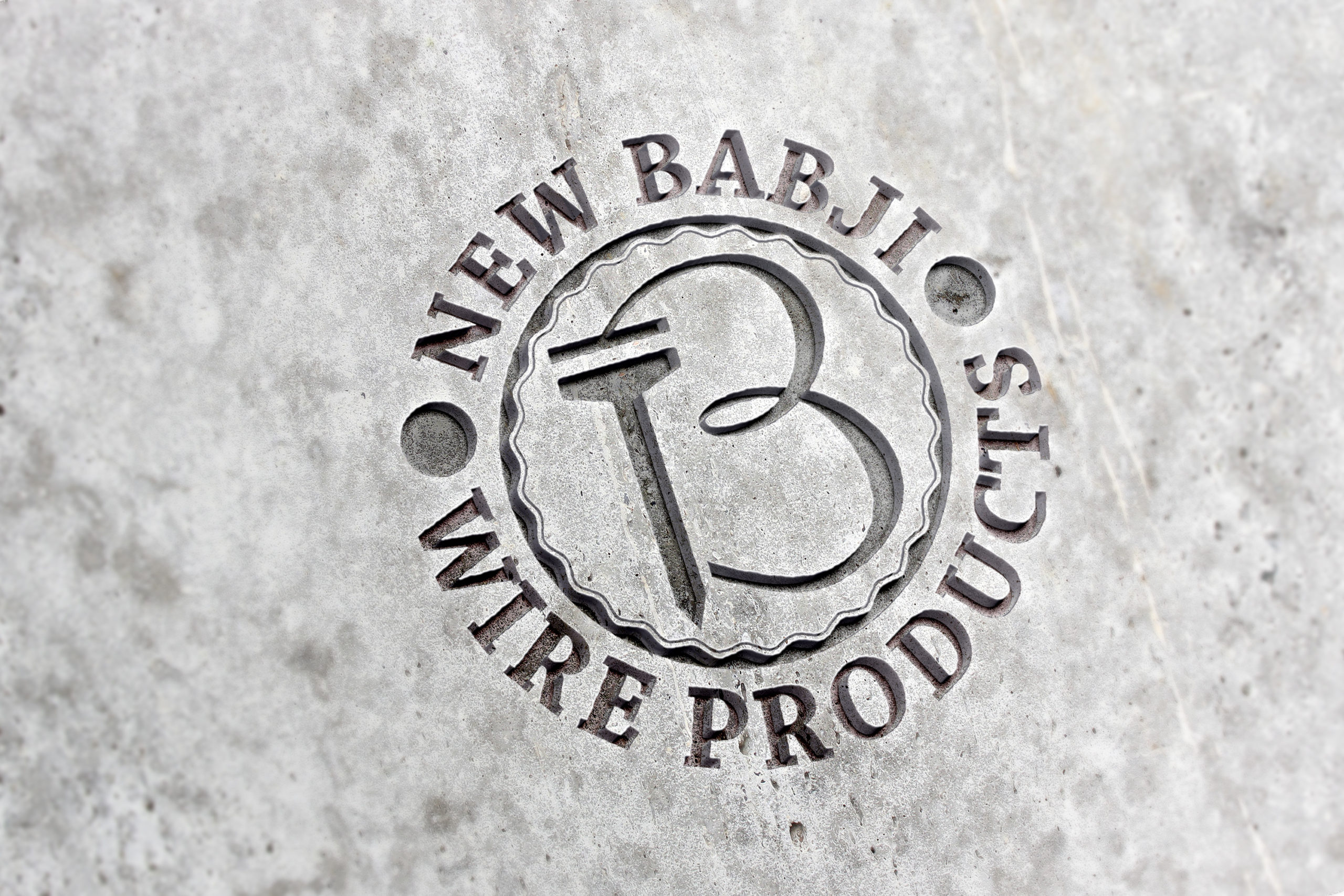 Manufacture of wire and nails company logo design by Badri Design