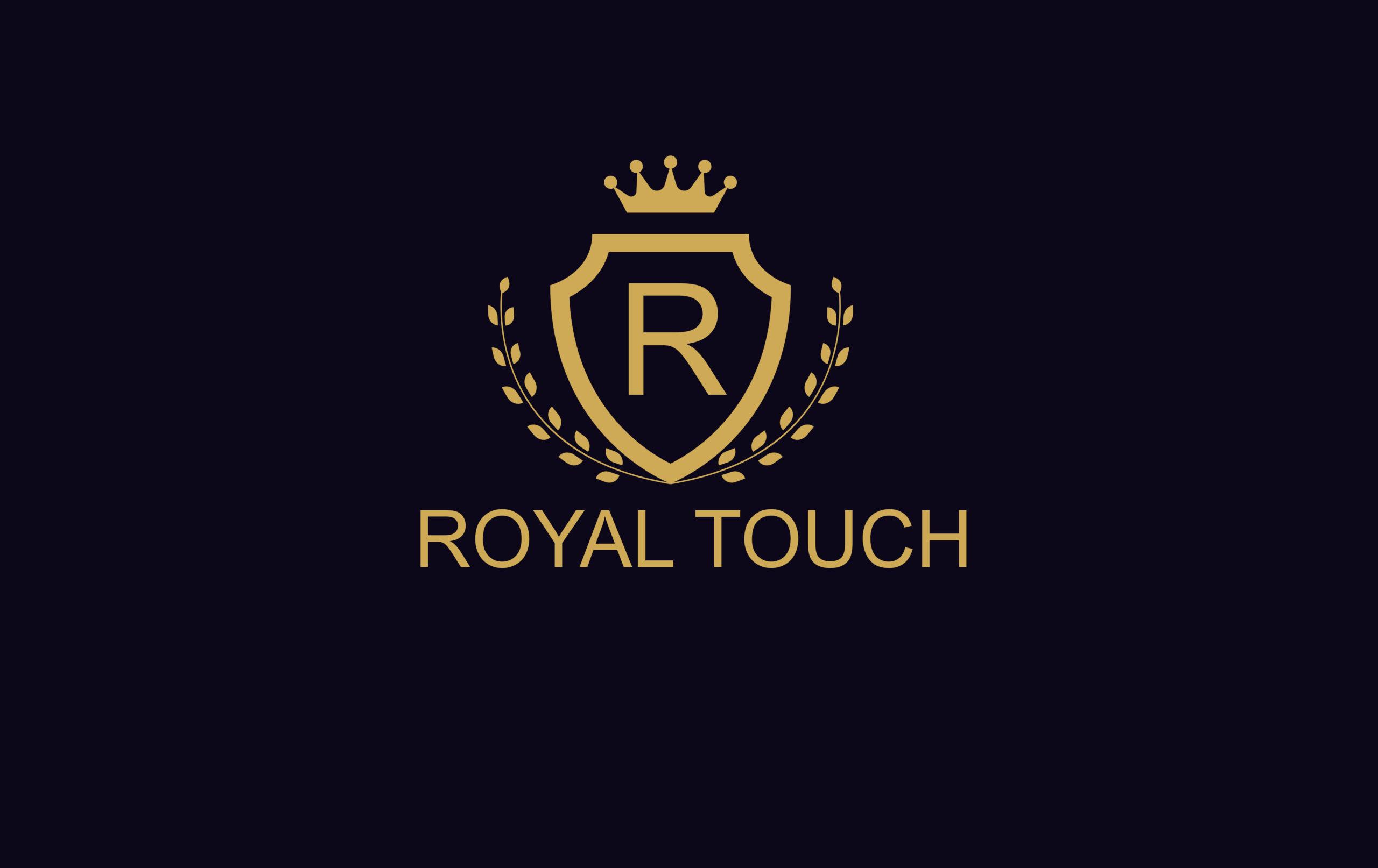 Royal Touch garment shop logo design by Badri Design