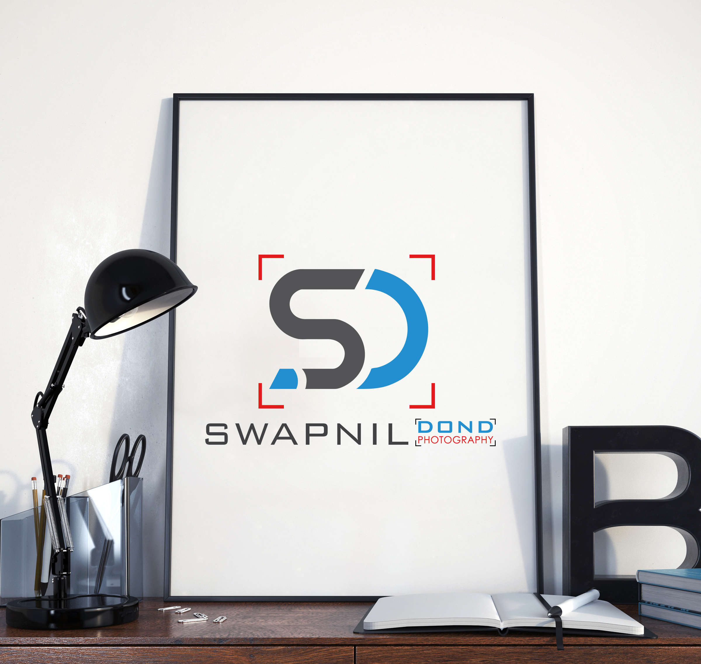 Swapnil dond photography logo design by Badri Design