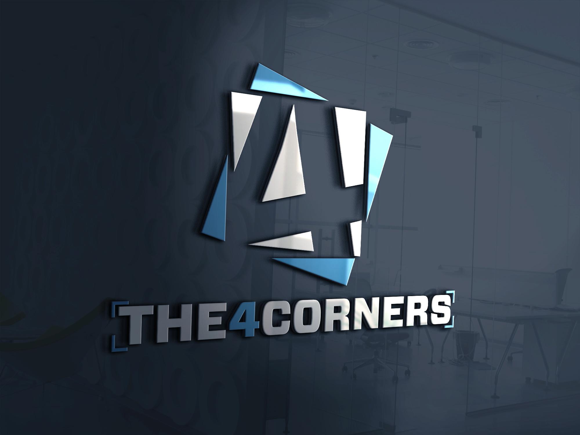 The4corners ecommerce website logo design by Badri Design