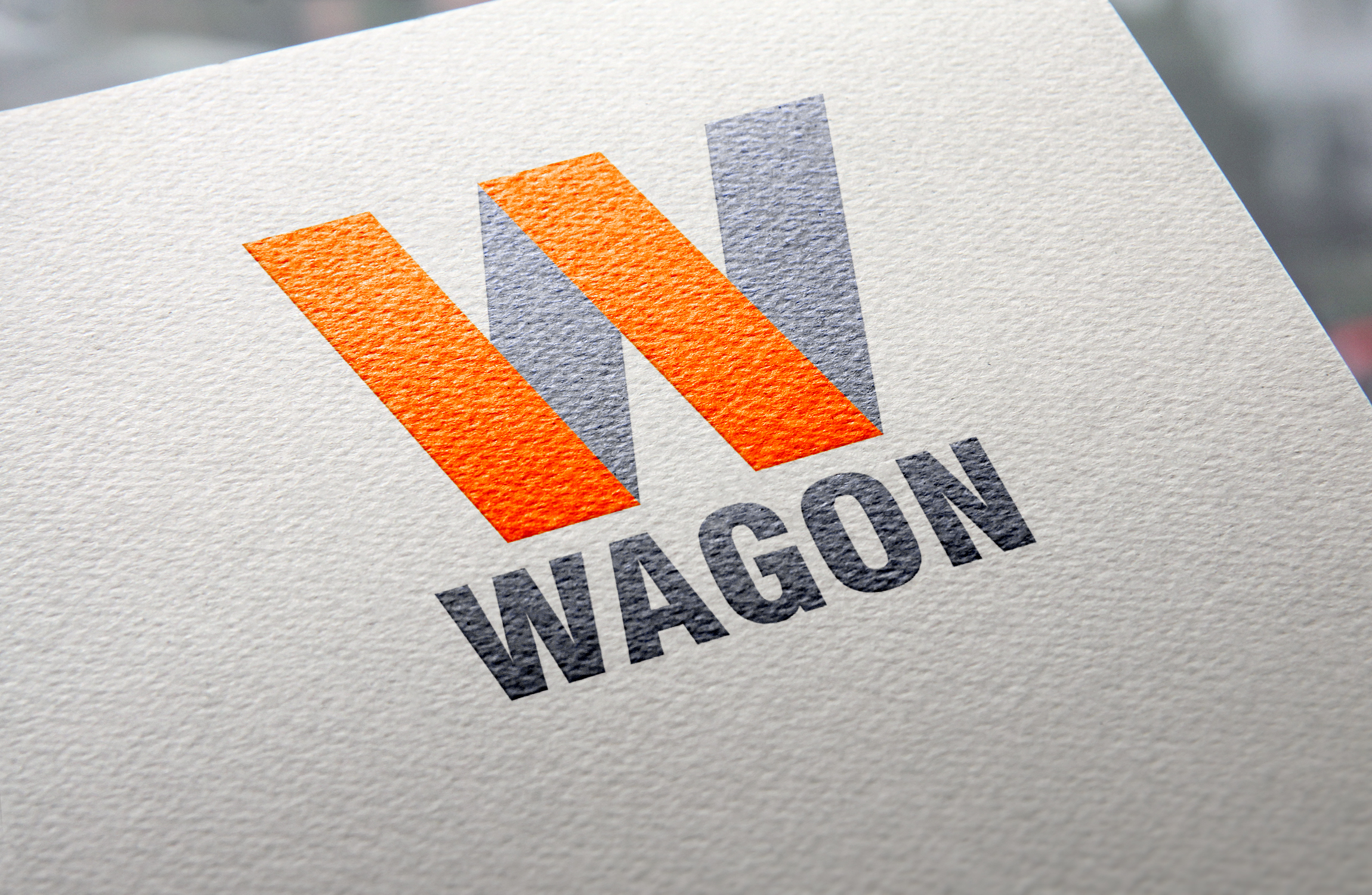 Wagon company logo design by Badri Design