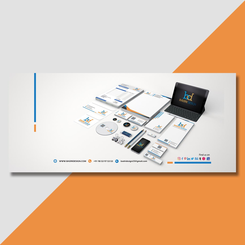 Social media cover photo design for badri design