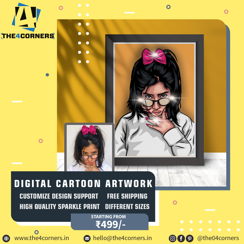 ecommerce company advertise post design for marketing on social media by Badri Design
