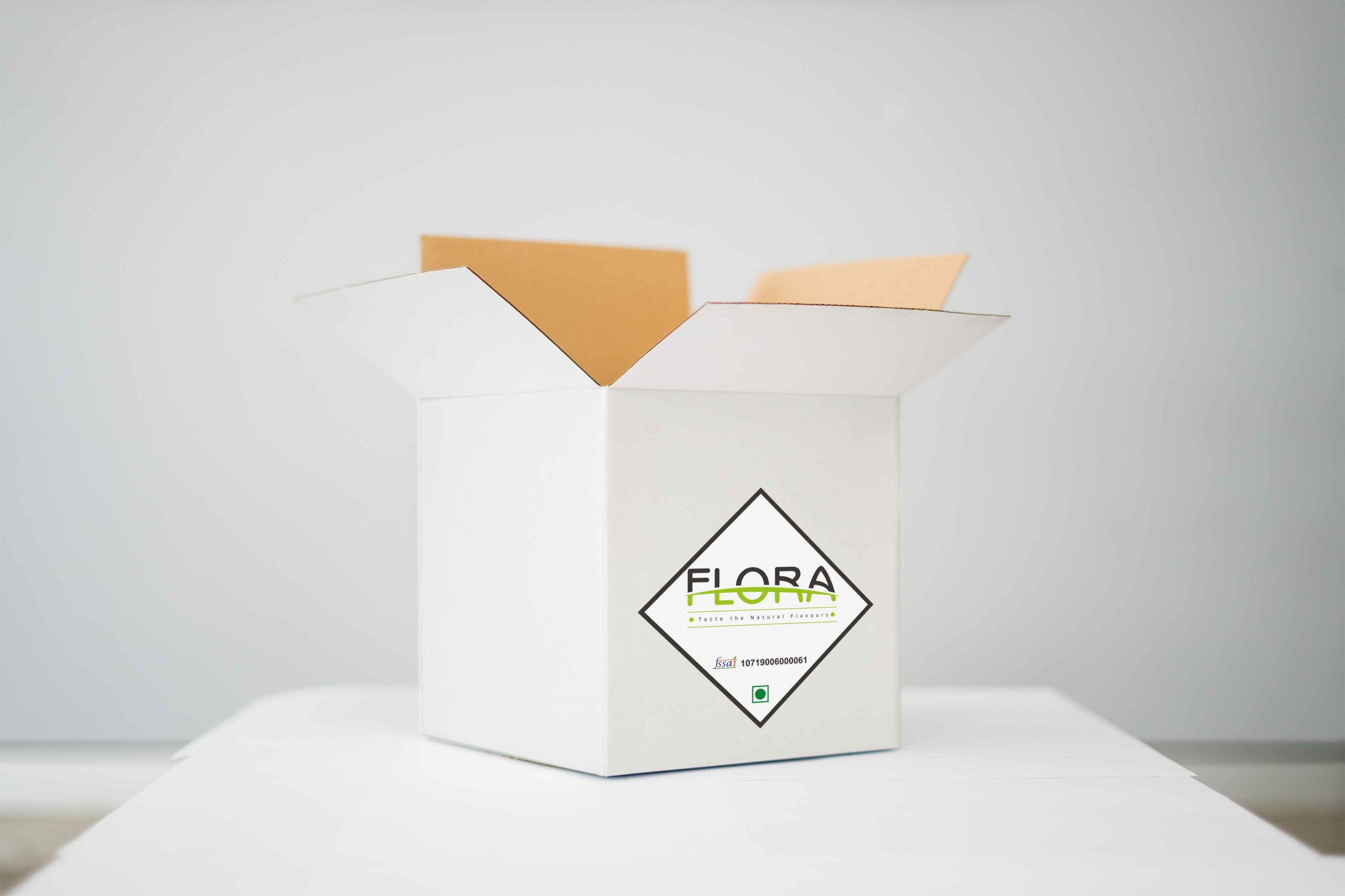 Food company flora sticker design by Badri Design