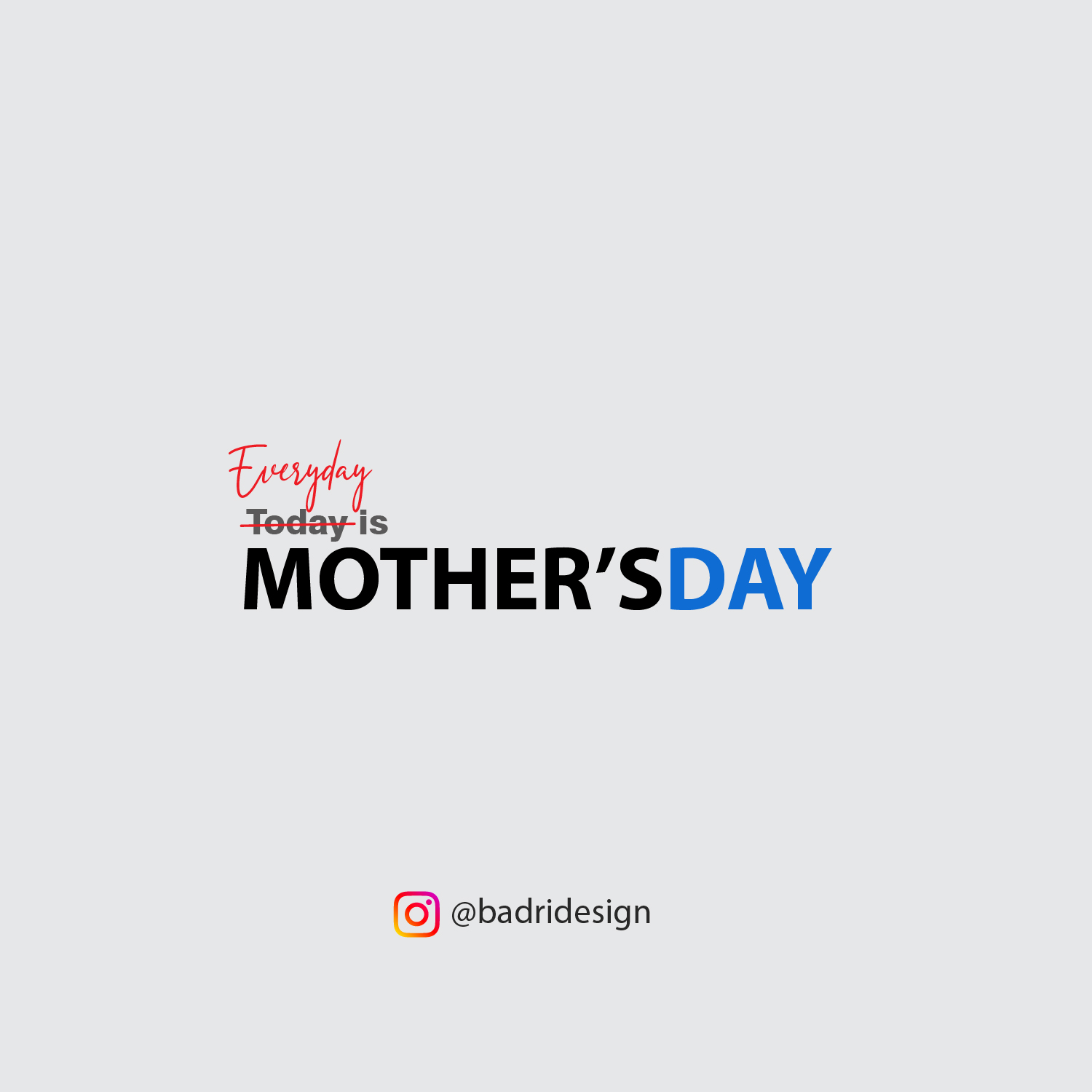 Mother's day topical content creation by Badri Design