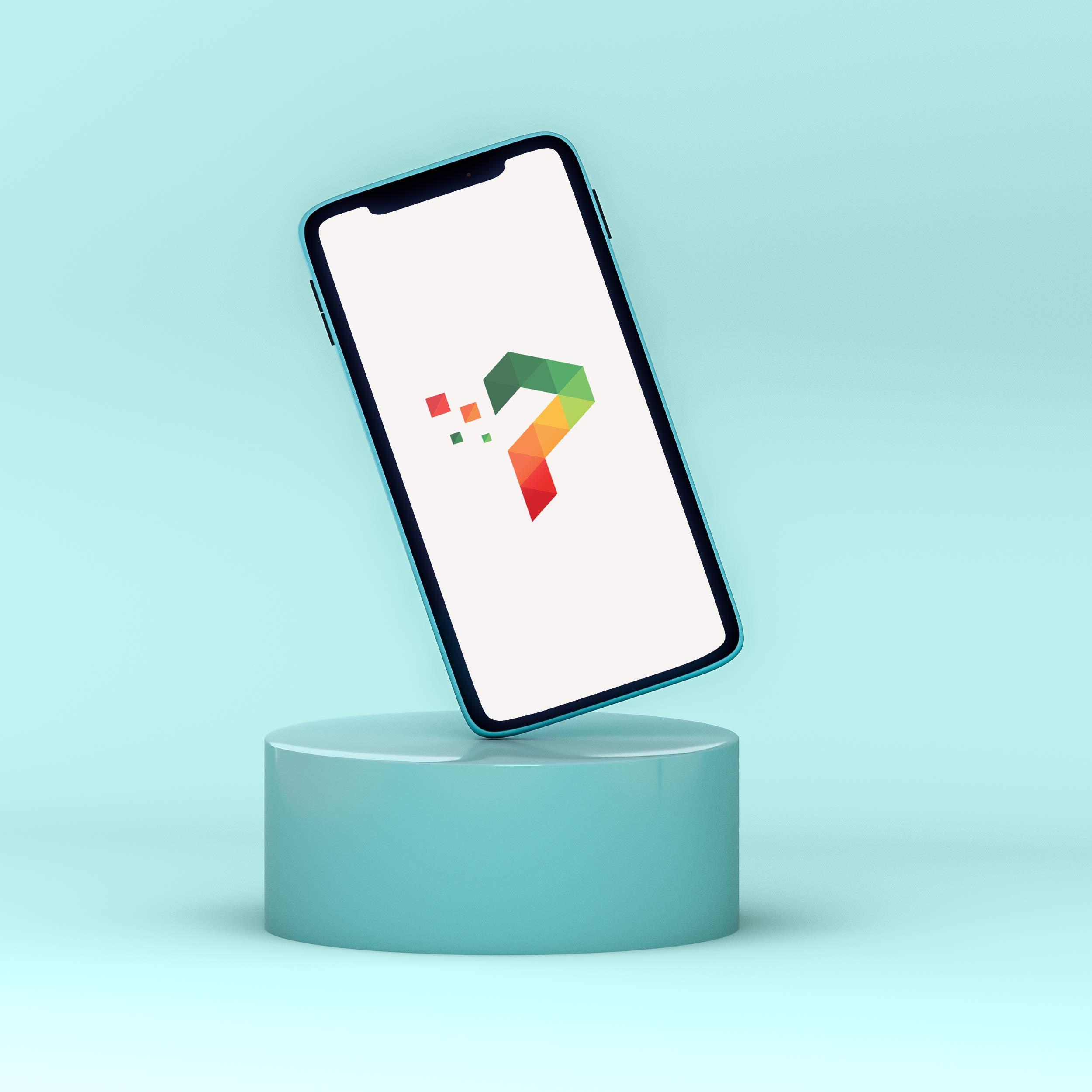 Social media post design application icon design by Badri design