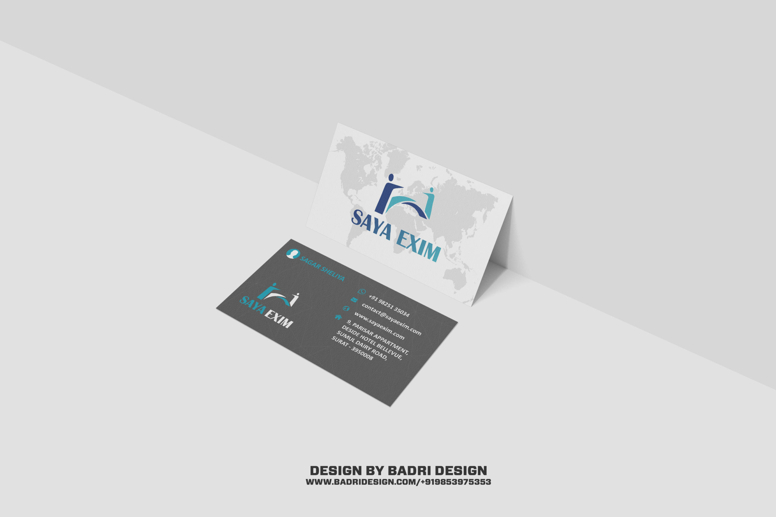 Saya Exim creative world business design Badri design