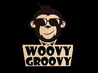 Woovy Groovy mascot logo design by badri design